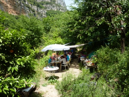 Jardin ouvert participatif - repas